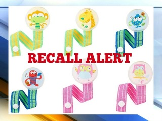 Toys R Us recalls 53K pacifier clips
