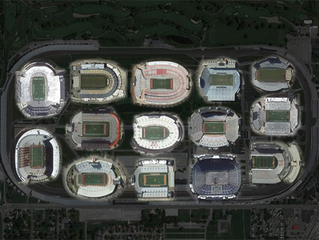 LOOK: How many football stadiums fit inside IMS?