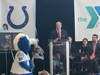 Colts owner donates gift to rename CityWay YMCA
