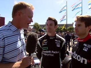 WATCH: Pagenaud, Power on last 2016 IndyCar race