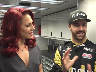 How Hinchcliffe balances IndyCar, DWTS