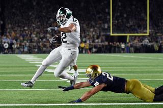 Notre Dame falls to Michigan State, 36-28