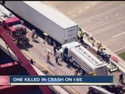 1 killed, four injured in accident on SB I-65