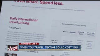 Angie's List: Saving on texting while overseas