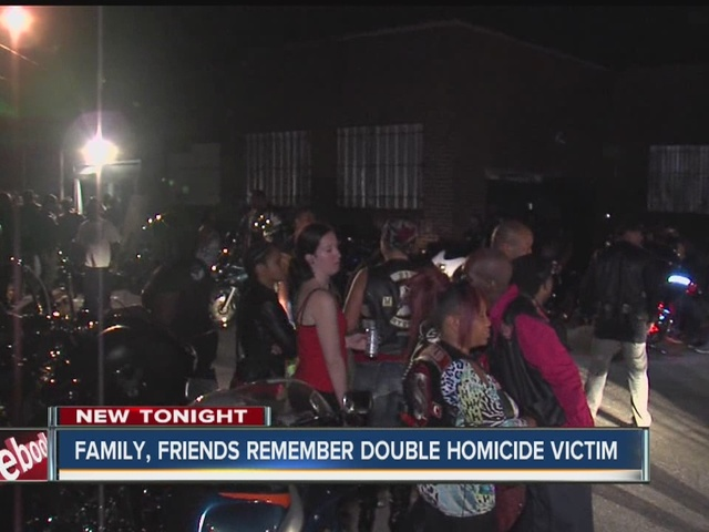 Family, friends remember double homicide victim