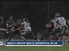 HIGHLIGHTS: Beech Grove beats Monrovia 40-28