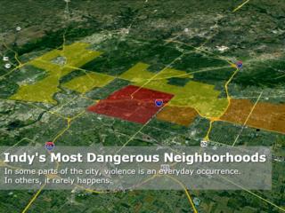 MAP: Indy's Most Dangerous Neighborhoods 2017