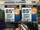 Warm weekend. Cooler next week.