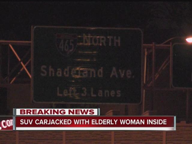 Man carjacks SUV with elderly woman inside in Madison County