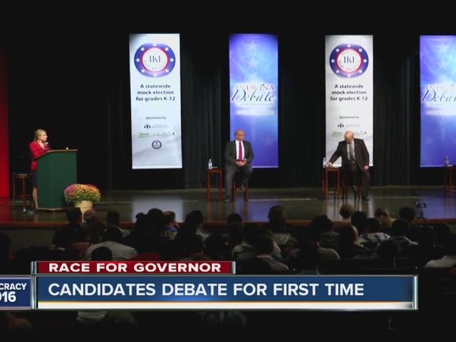 First Indiana gubernatorial debate takes place