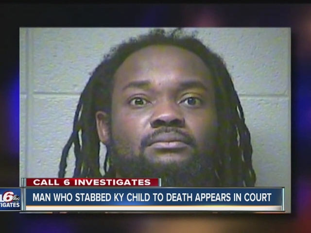 Indianapolis man accused of stabbing 6-year-old Ky. boy to death appears…