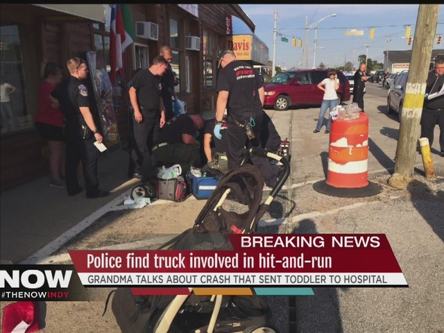 PD: Truck involved in hit-and-run of grandma pushing toddler in stroller located