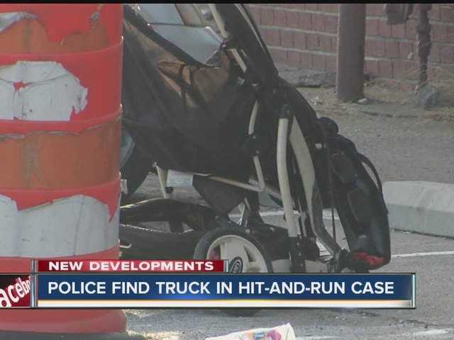 Truck involved in hit-and-run of grandma pushing stroller located