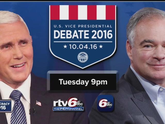 VP Debate Tuesday at 9pm