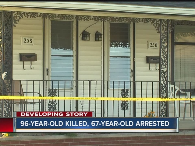Woman accused of killing 96-year-old neighbor