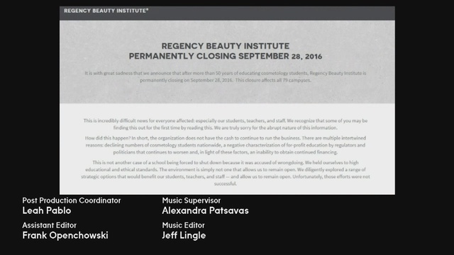 Regency Beauty Institute closes all 79 campuses around the country immediately