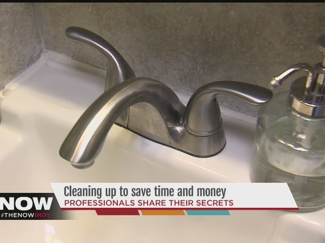 Cleaning tips to save time and money