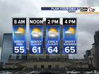 This week: Cloudy, cool temps, rain chances