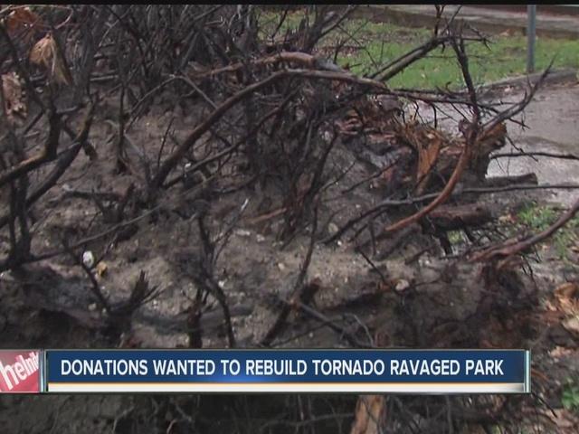 Donations wanted to help rebuild Kokomo Park