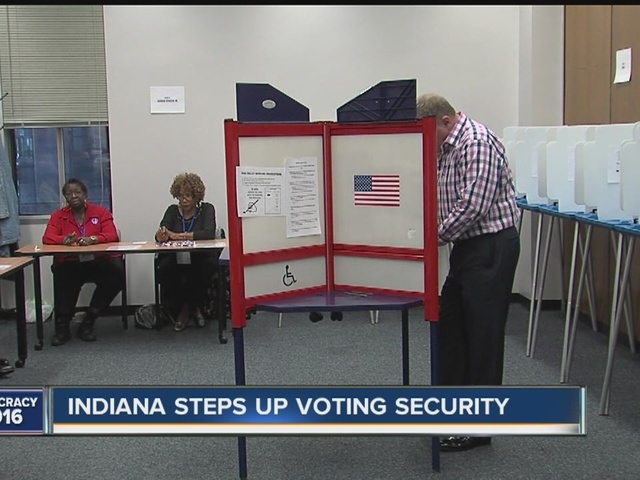 Indiana stepping up voting security