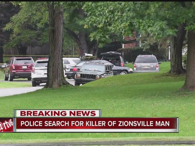 Search for suspect who killed Zionsville man