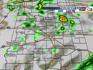 TIMELINE: See where rain is expected today