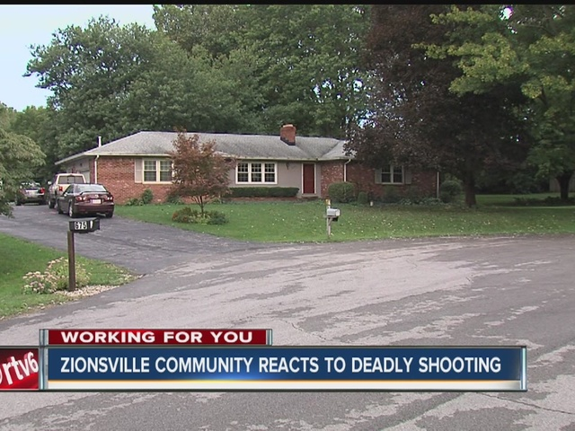 Zionsville man shot dead outside his home