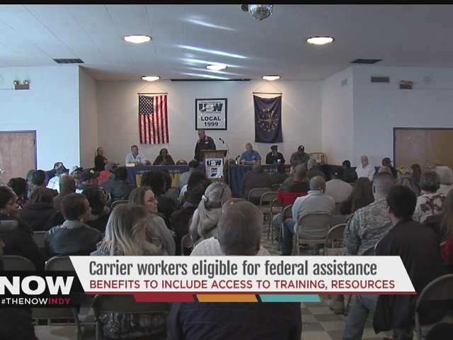 carrier workers eligible for federal assistance