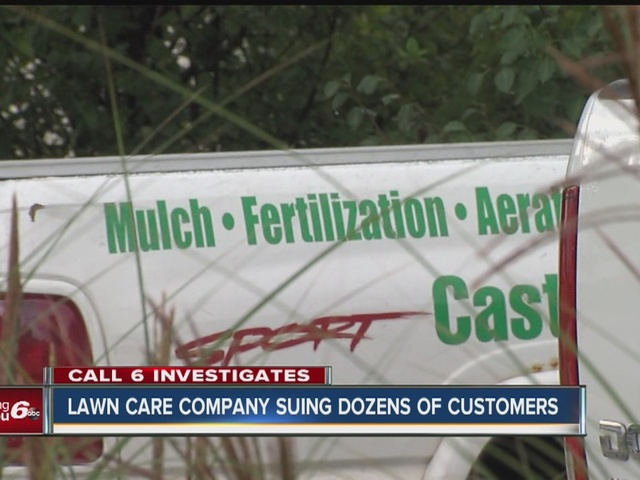 Castleton Lawn Care sues customers, not licensed to apply fertilizer