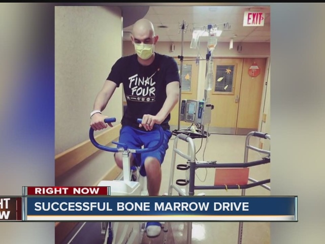 Final numbers for Project 44 bone marrow drive