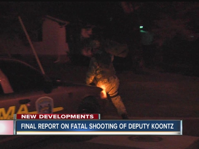 Final report released on fatal shooting of Deputy Koontz