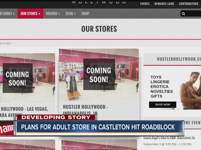 Plans for adult store in Castleton hit roadblock