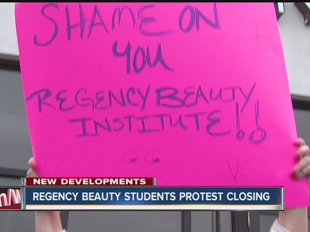 Regency Beauty Institute closes for good, blames recent federal ruling,…