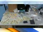 Cash, drugs seized in 'Word of Mouf' search