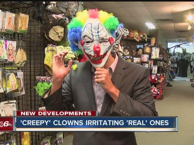 'Creepy' clowns ruining the fun for real clowns