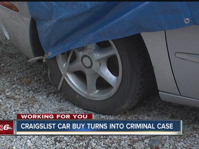 Craigslist car buy turns into criminal case
