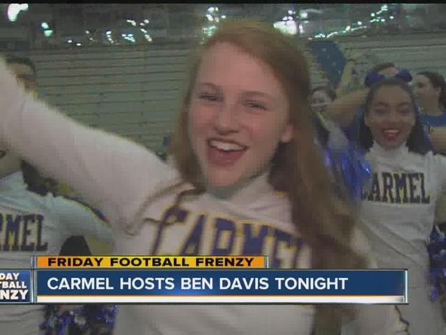 Friday Football Frenzy: Carmel High School hosts Ben Davis Friday