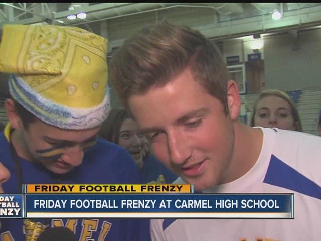 Friday Football Frenzy: Carmel gets pumped for Ben Davis
