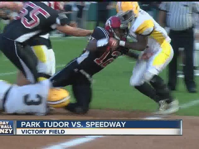 HIGHLIGHTS: Park Tudor defeats Speedway, 38-36