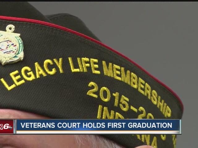 Veterans court holds first graduation