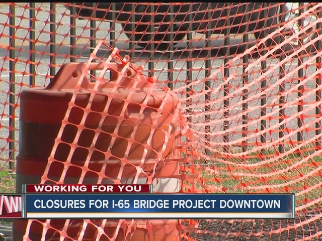 Weekend interstate construction may slow you down