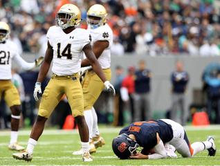 Notre Dame beats Syracuse 50-33