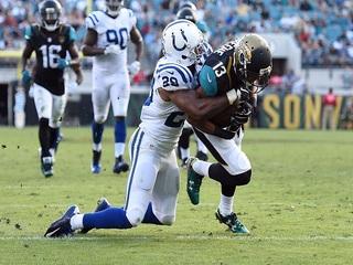Colts seek London revenge against Jaguars