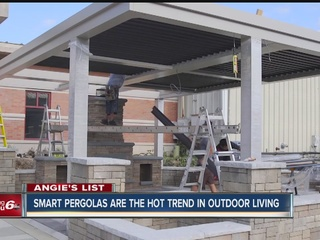 Angie's List: Smart pergolas are trending hot