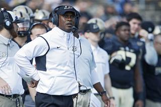 Purdue fires head football coach