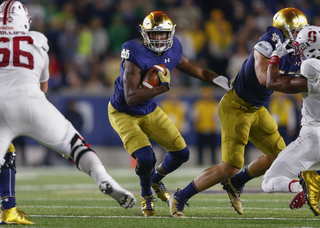 Notre Dame loses to Stanford, 17-10