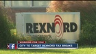 City wants tax break money back from Rexnord