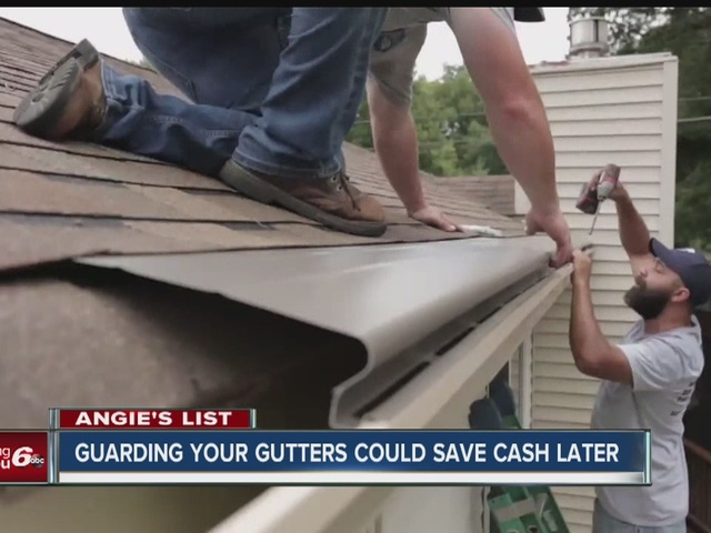 Angie's List: Guarding your gutters could save cash later