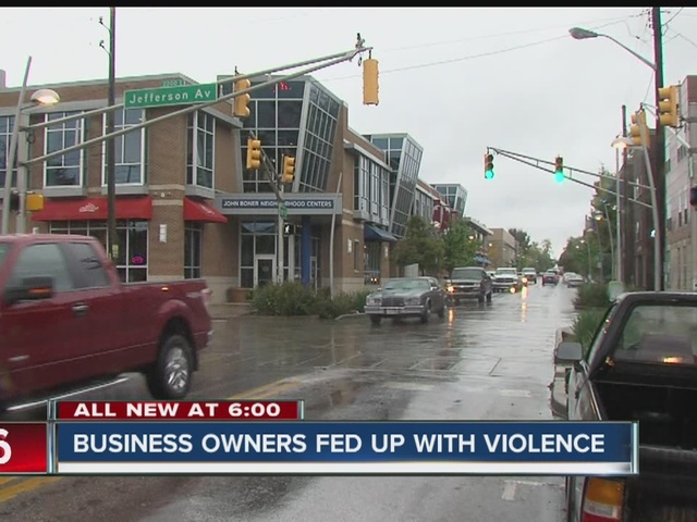 Business owners fed up with violence in their neighborhood