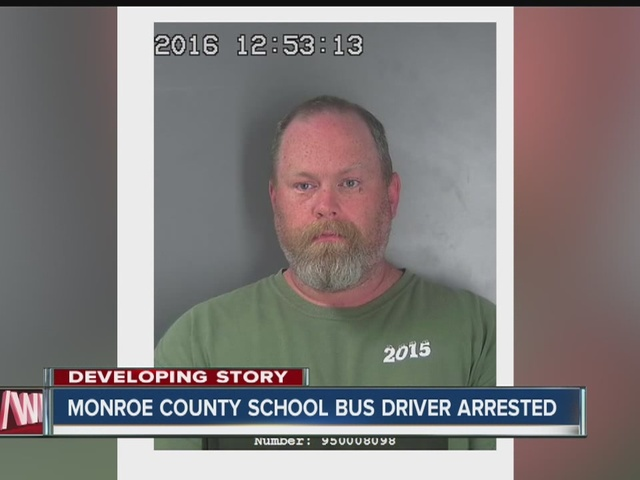 Monroe County school bus driver arrested for child pornography